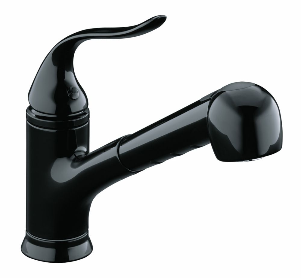 The constant dripping that keeps you awake at night is not as hard to fix as you might have thought. KOHLER Coralais Single-Control Pullout Spray Kitchen Sink ...