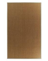 Lanart Rug Natural Sisal 8x10 Bound Tan #59   The Home ...