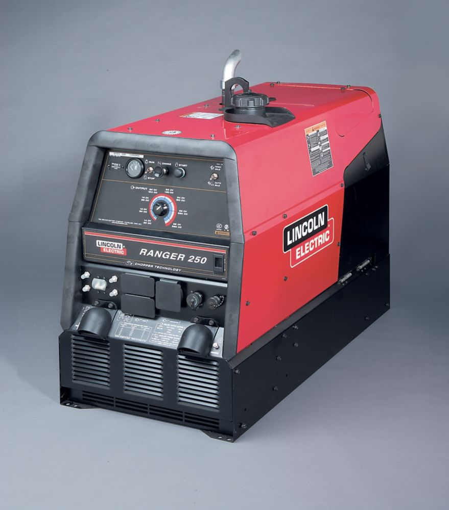 medium resolution of lincoln electric ranger 250 subaru robin engine drive