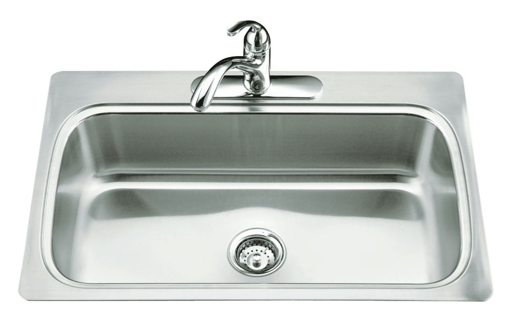 small kitchen sinks knotty pine cabinets for sale kohler undertone squared undercounter sink the home depot canada