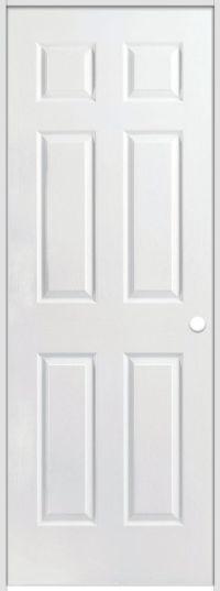 Masonite Melrose 36-inch x 84-inch Interior Barn Door Slab ...