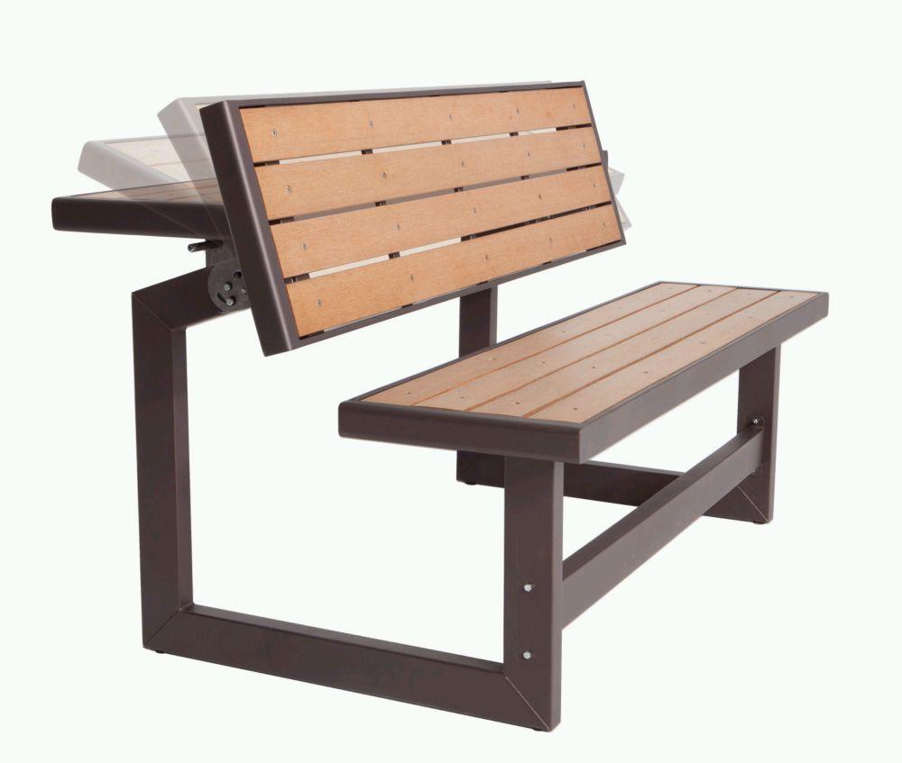 Lifetime Outdoor Convertible Bench  The Home Depot Canada