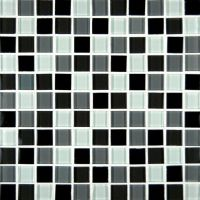 Mosaic Mirror Tile On Mesh