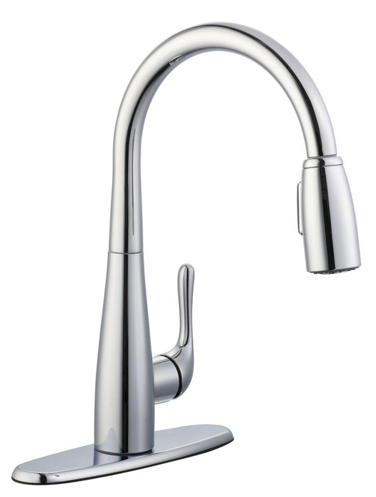 Glacier Bay 900 Series Pulldown Kitchen Faucet In Chrome