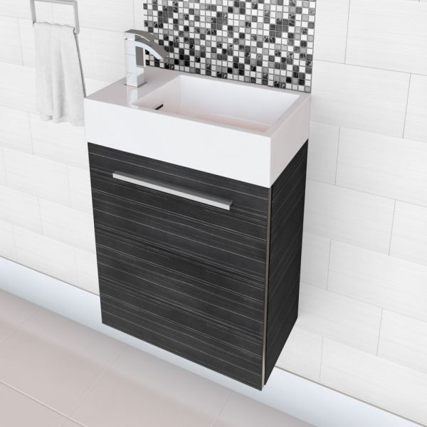 Cutler Kitchen & Bath Boutique Collection Vanity In Grey