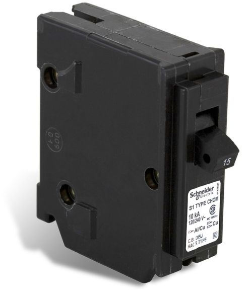 small resolution of schneider electric homeline single pole 15 amp homeline plug on circuit breaker the home depot canada