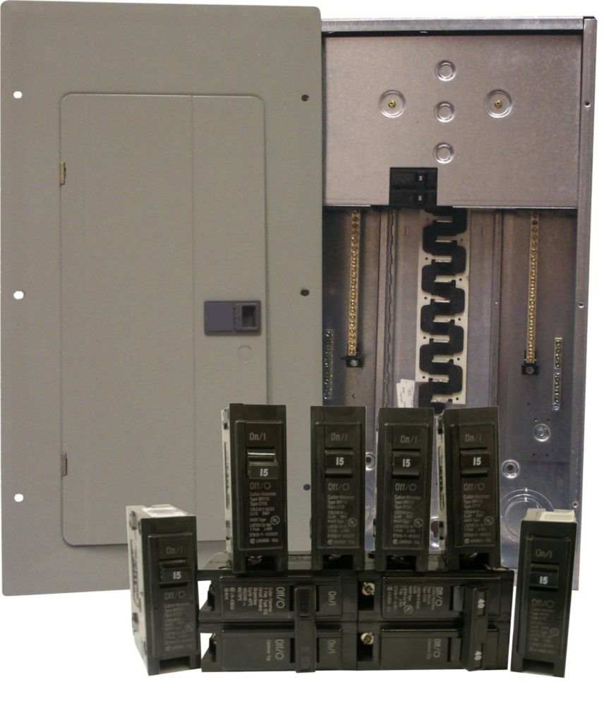 medium resolution of 40 80 circuit 200a 120 240v siemens panel pack with main 200 amp sub panel homeline