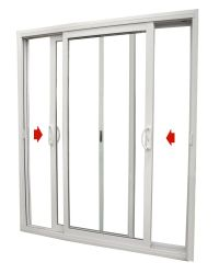 Double Sliding Patio Door