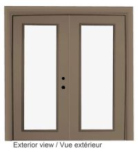 Dualglide Sliding Patio Door With Low E Glass -5 Foot Wide ...