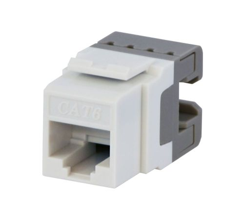 small resolution of cat6 jack in white photo of product ce techs