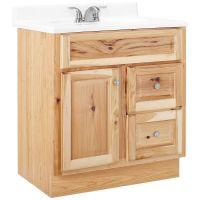 Hickory Bathroom Vanity. Custom Bathroom Vanity Winnipeg ...