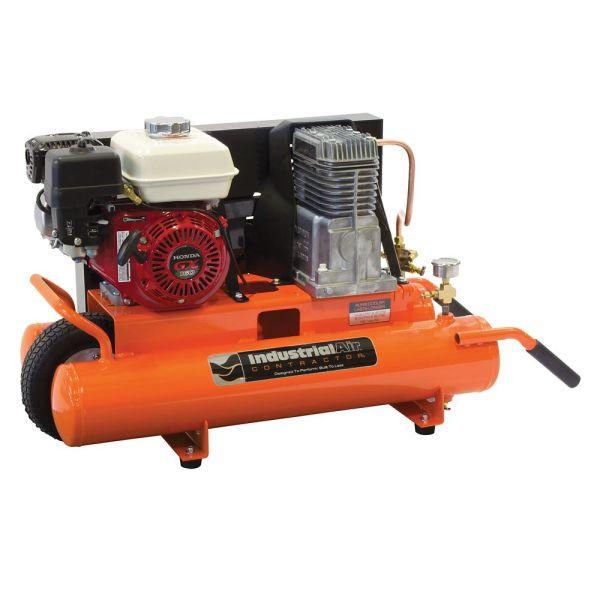 Gas Powered Wheelbarrow Air Compressor