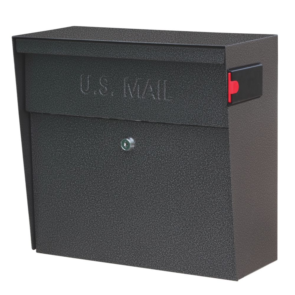 Wall Mount Locking Mailbox