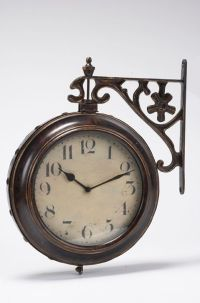 Ergo Double-Sided Wall Clock   The Home Depot Canada