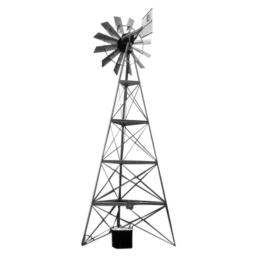 Outdoor Water Solutions Windmill and Electric Aerator