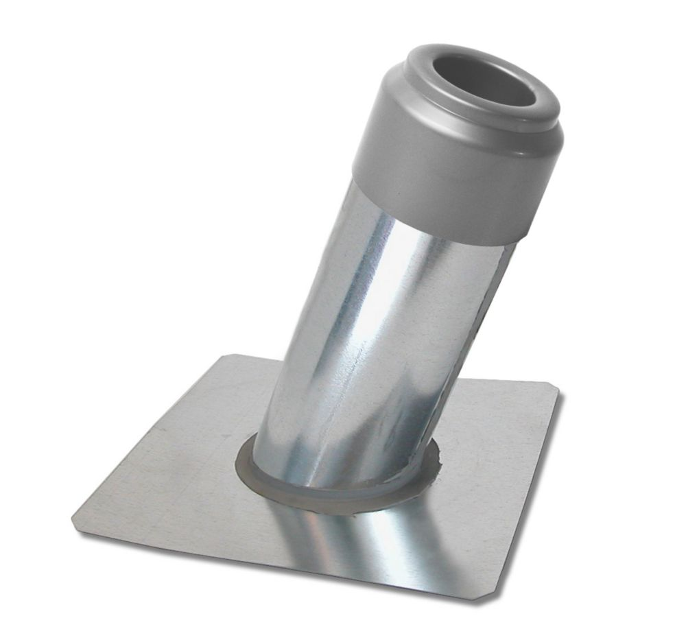 Imperial Plumbing Vent Flashing with cap 4/12 slope   The Home Depot Canada
