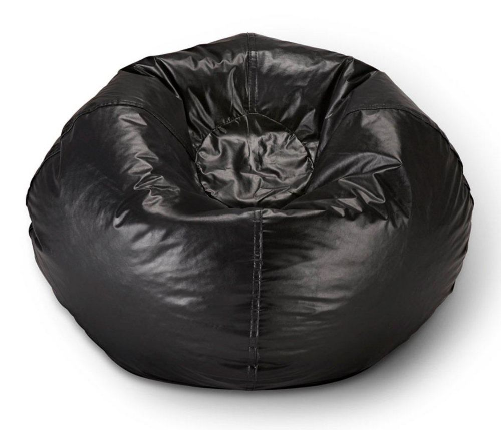 bean bag chairs canada parsons target fillers the home depot 98 inch chair in matte black