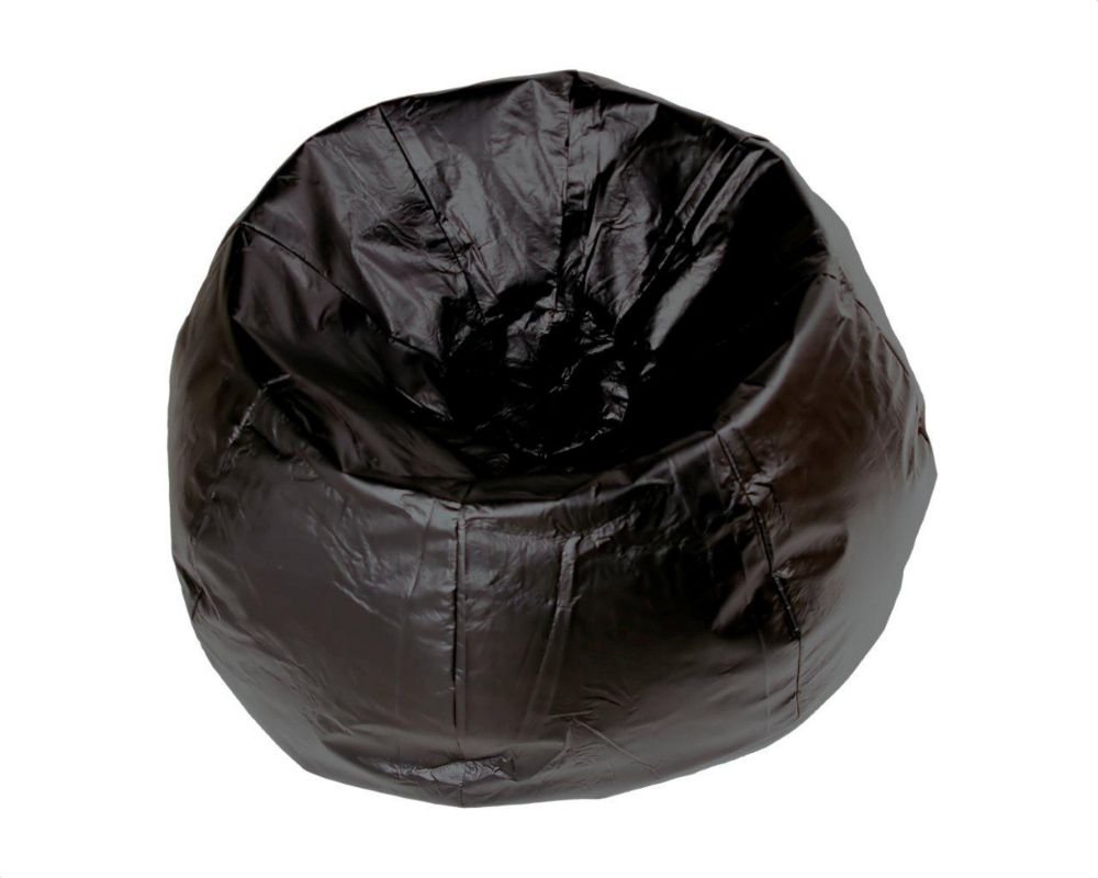 Basketball Bean Bag Chair Jumbo 132 Inch Bean Bag Chair In Black
