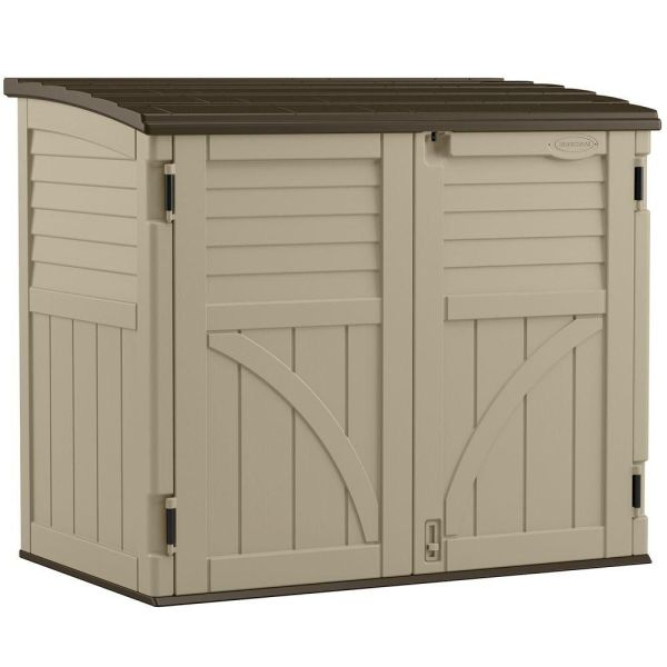 5 FT Horizontal Storage Shed