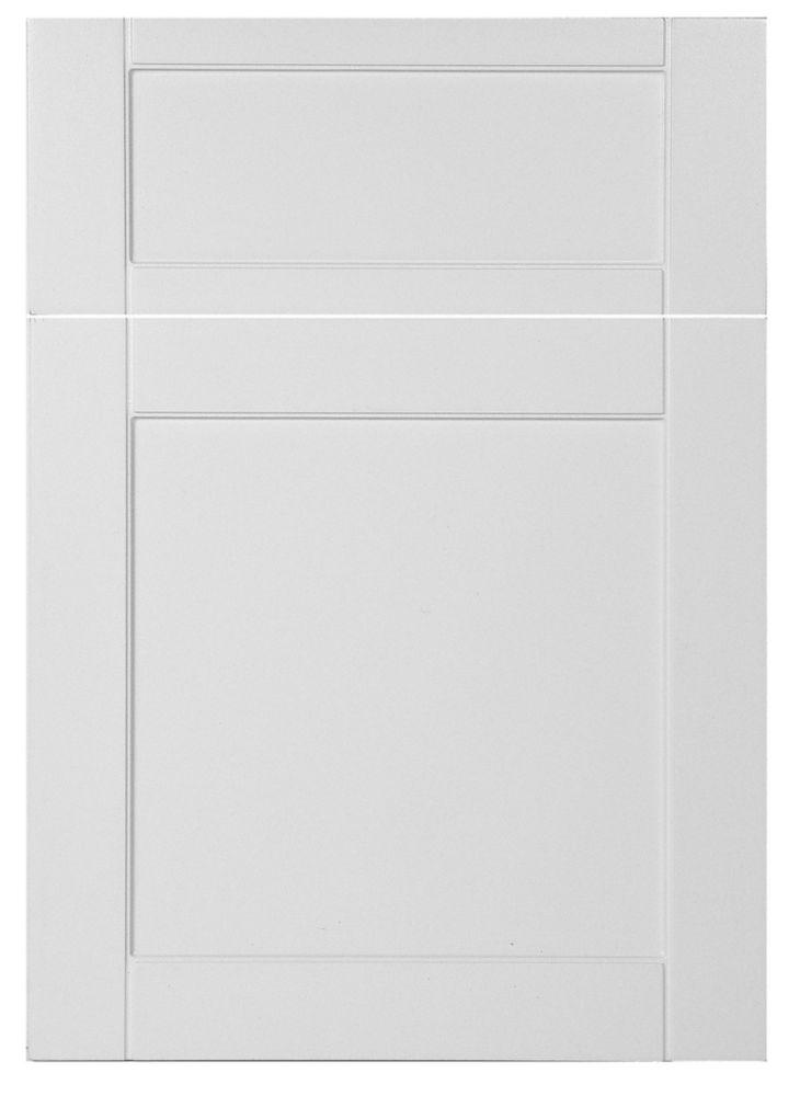 white kitchen cabinet doors range hoods drawer fronts the home depot canada door style aurora