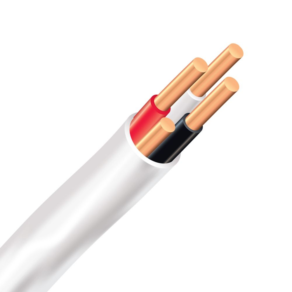 southwire electrical cable copper electrical wire gauge 14 3 romex simpull nmd90 14 3 white 150m [ 1000 x 1000 Pixel ]