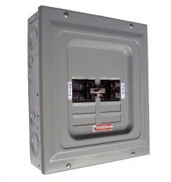 generac 60 amp 2 500 watt single load manual transfer switch [ 1000 x 1000 Pixel ]