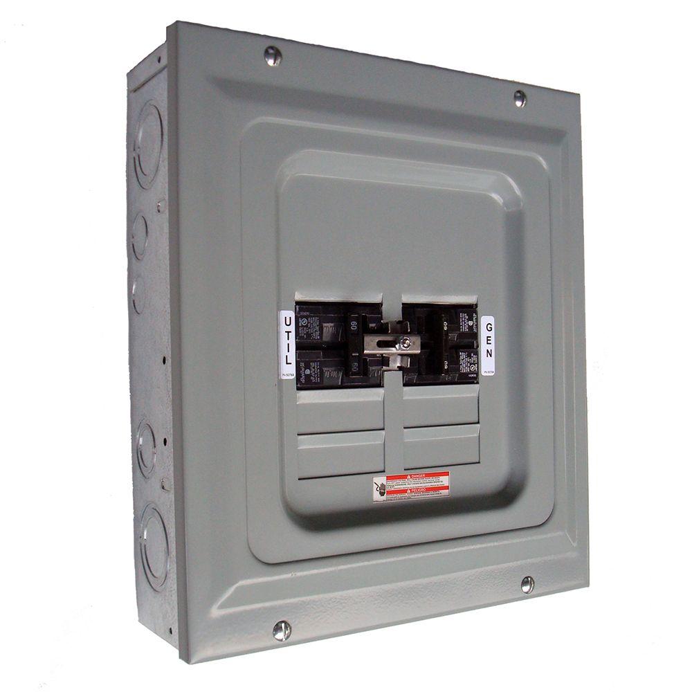 medium resolution of generac 60 amp 2 500 watt single load manual transfer switch