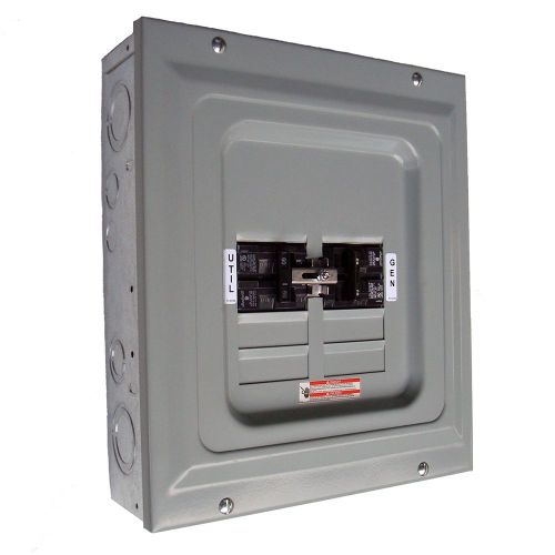 small resolution of generac 60 amp 2 500 watt single load manual transfer switch