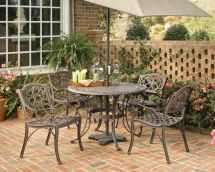 Home Styles Biscayne 5-piece Patio Dining Set With 42