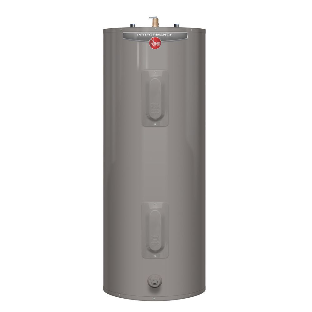 hight resolution of rheem performance 60 gal electric water heater with 6 year warranty