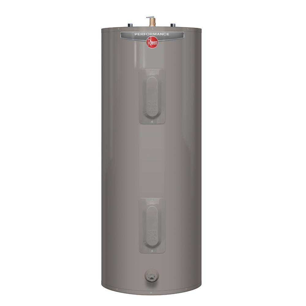 rheem performance 60 gal electric water heater with 6 year warranty [ 1000 x 1000 Pixel ]
