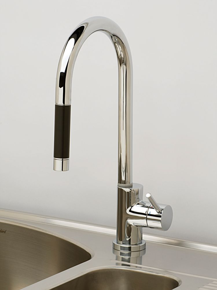 American Standard Montagna 1 Handle Kitchen Faucet, Chrome