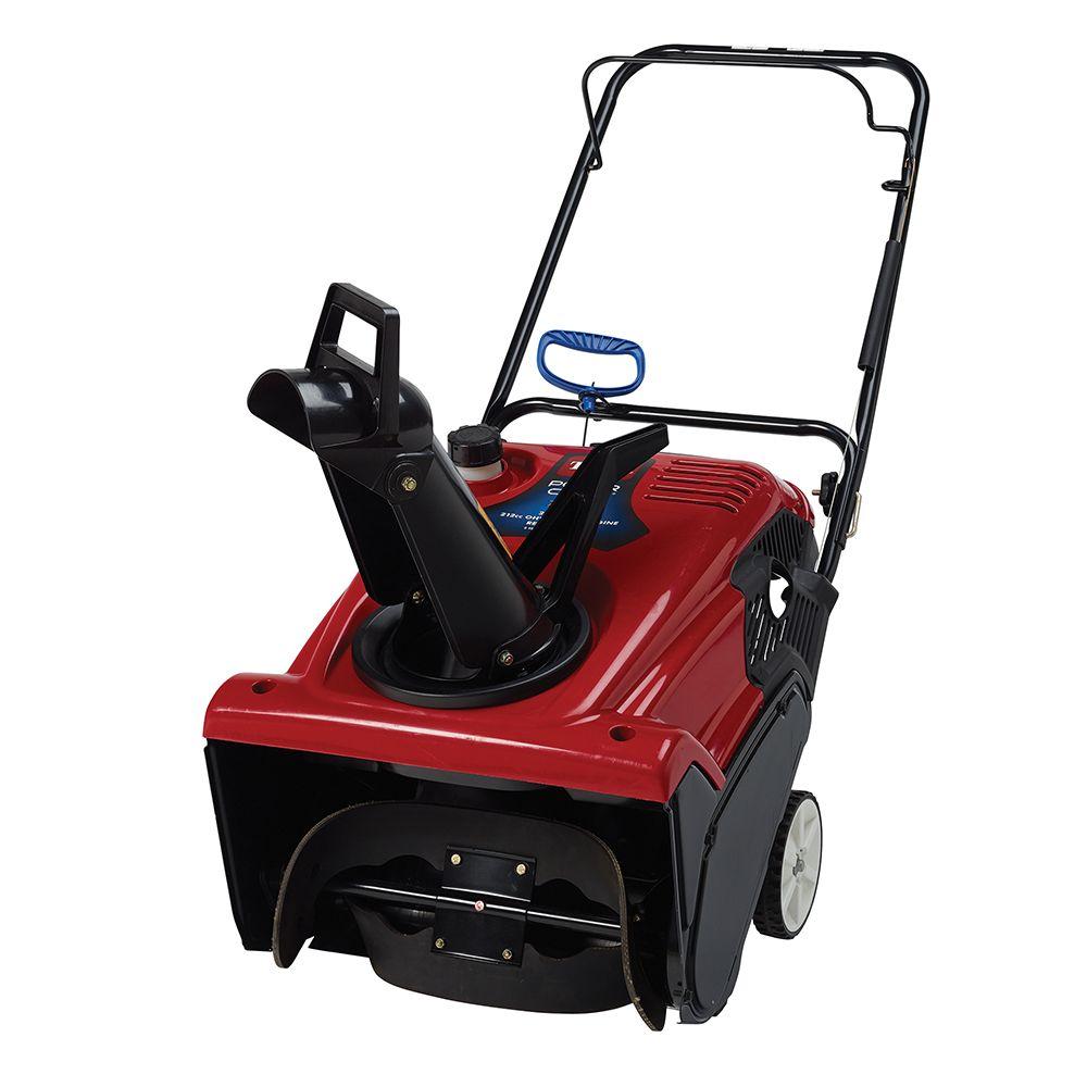 toro power clear 721 e 21 inch single stage gas snow blower [ 1000 x 1000 Pixel ]