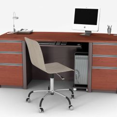 Chair Mount Keyboard Tray Canada Standing Workstation Desks The Home Depot