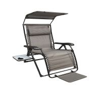 Unbranded XL Zero Gravity Chair With Canopy With Footrest ...