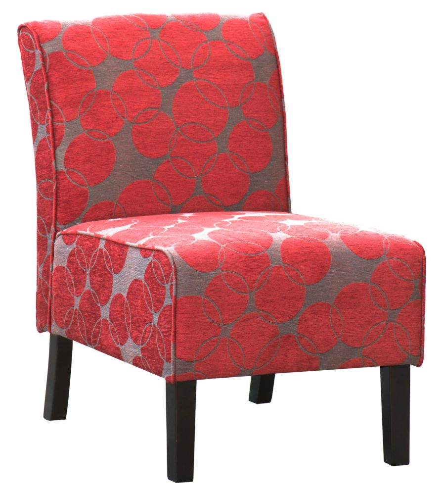 Worldwide Homefurnishings Inc Lanai Accent Chair Red