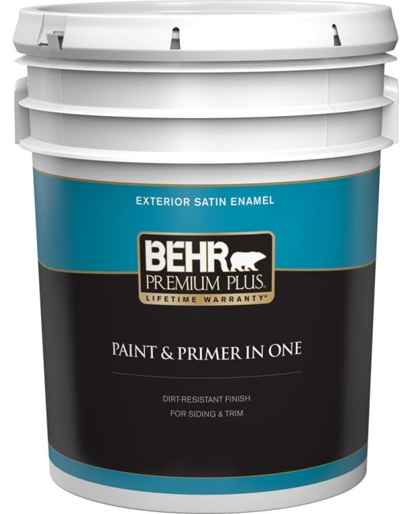 Ultra Pure White Behr Exterior Paint