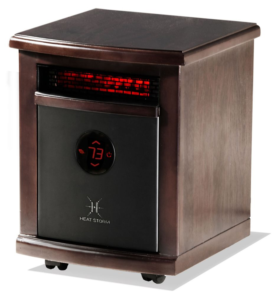 medium resolution of heat storm logan portable infrared quartz heater