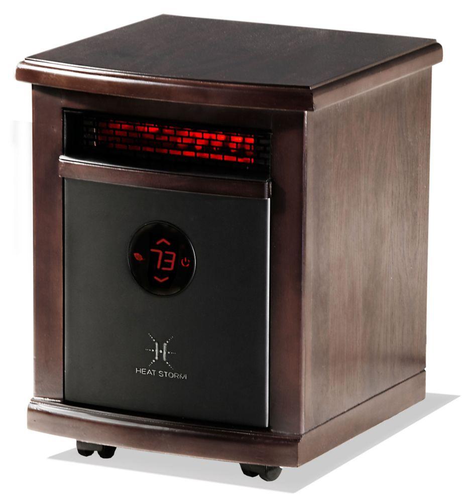 hight resolution of heat storm logan portable infrared quartz heater