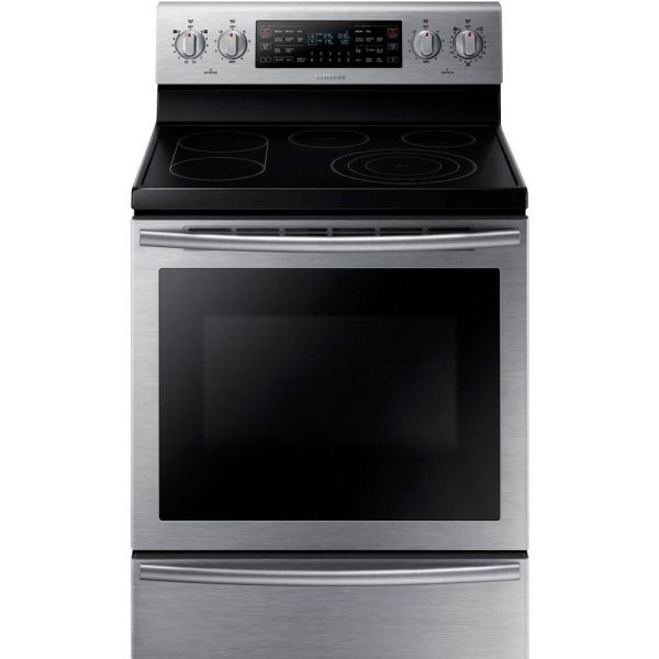 Ge 6.6 Cu. Ft. Free-standing Double Oven Convection