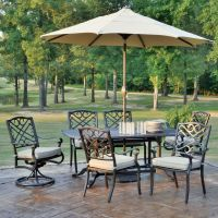 Foremost Casual Harmony 9-Piece Patio Dining Set | The ...