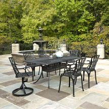 Home Styles Largo 7-piece Rectangular Patio Dining Set