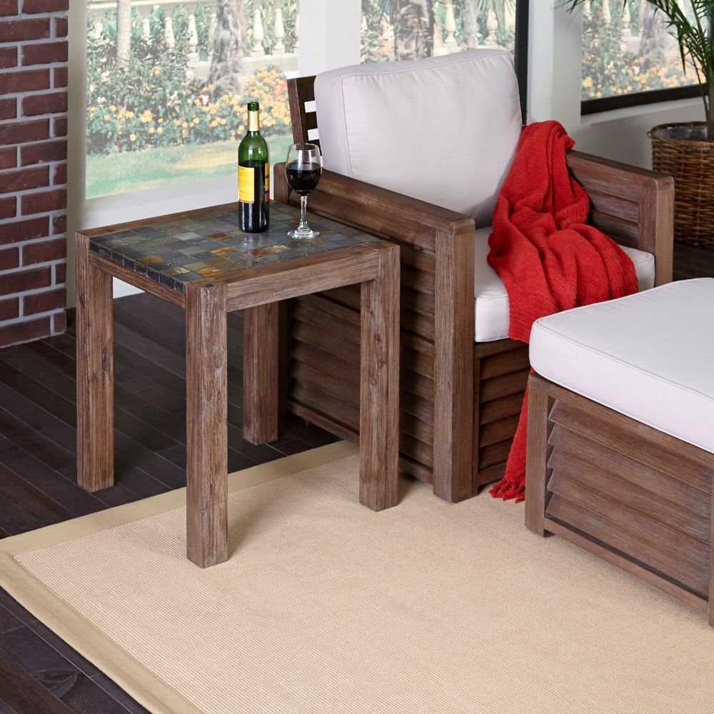 Patio Side & Accent Tables Home Depot Canada