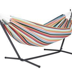 Hammock Chair Stand Calgary Intex Ultra Lounge And Ottoman Hammocks Patio Swings More The Home Depot Canada Sunbrella With