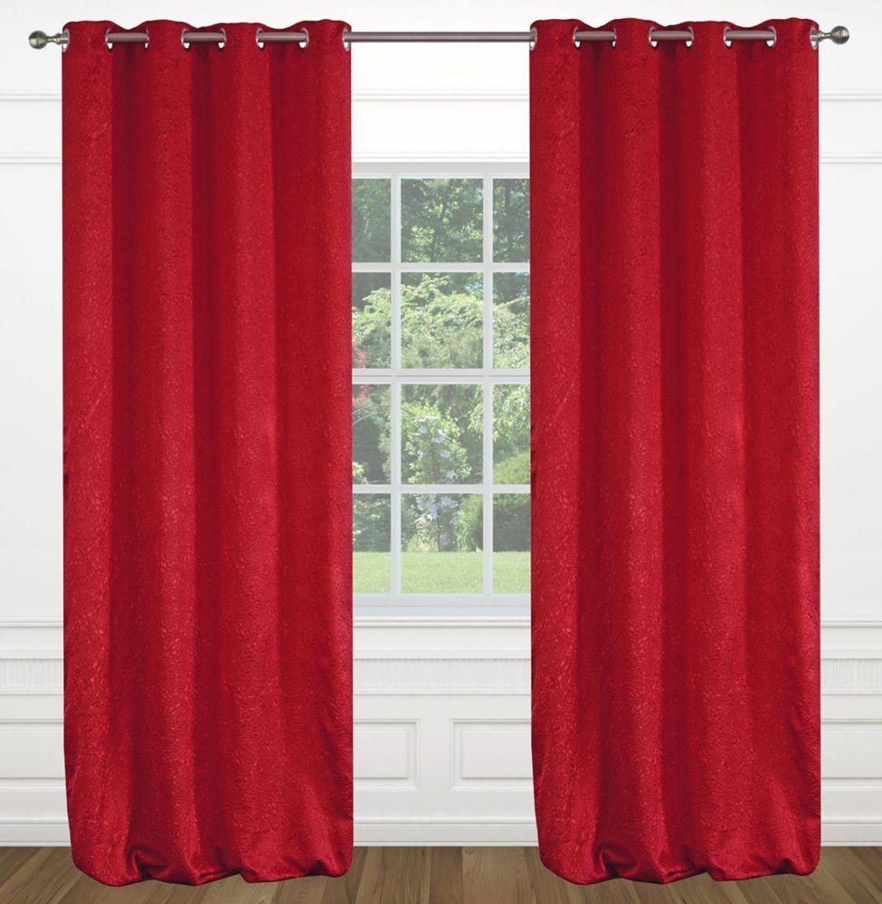 Delta grommet curtain pair 52x95 in ivory 371 Canada Discount  CanadaHardwareDepotcom