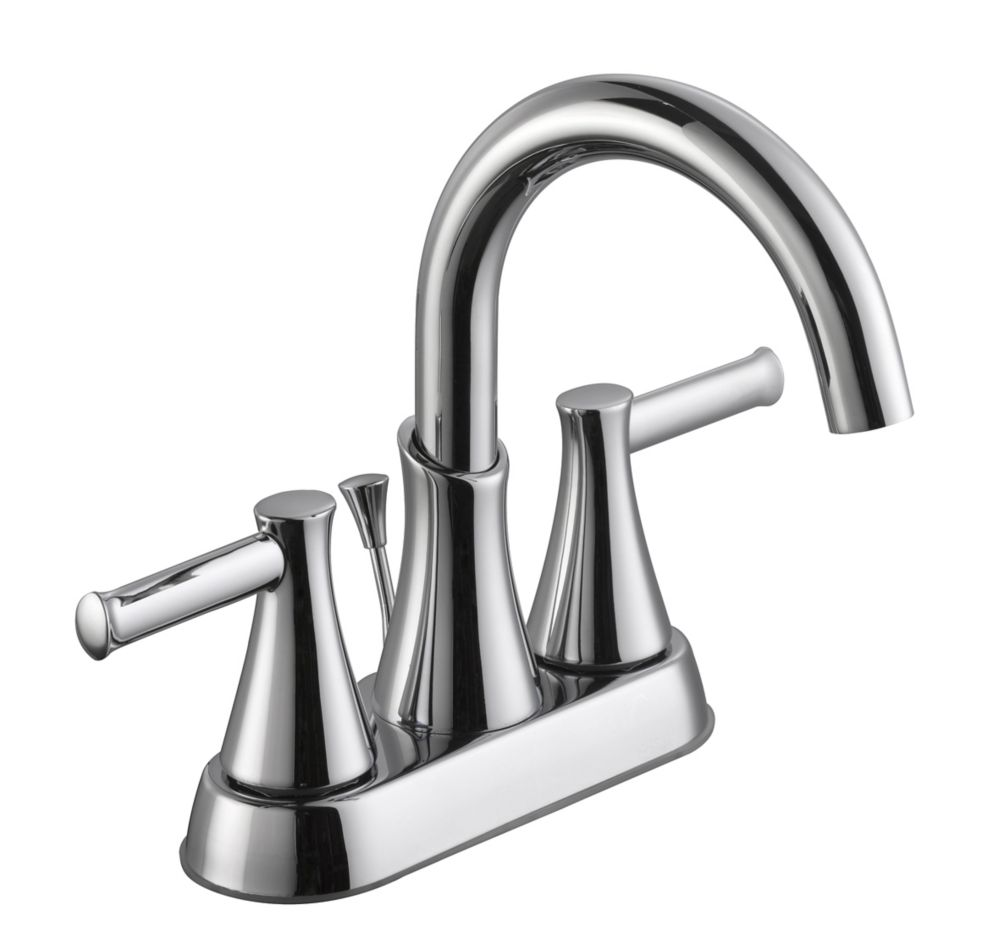 GLACIER BAY 8000 Series 4 Inch Centerset Bath Faucet in Chrome  The Home Depot Canada