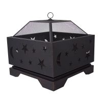 Pleasant Hearth Stargazer Deep Bowl Outdoor Fire Pit | The ...