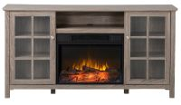 Homestar Provence 60 Inch Wide Media Fireplace in ...
