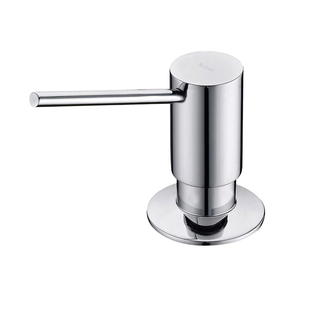 soap dispenser kitchen backsplash ideas dispensers pumps the home depot canada in chrome
