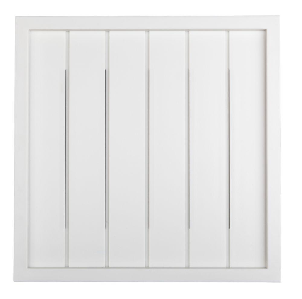 hampton bay wireless or wired door bell white bead board [ 1000 x 990 Pixel ]
